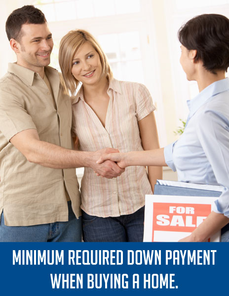 Minimum Required Down Payment When Buying A Home
